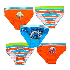 Finding Nemo Boys' Briefs, Pack of 5