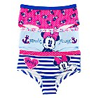 Minnie Mouse Briefs Shorts for Girls, Pack of 3
