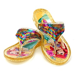 The Little Mermaid Jelly Flip Flop For Kids