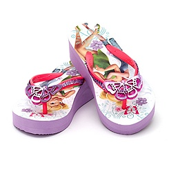 Fairies Wedge Flip Flop For Kids