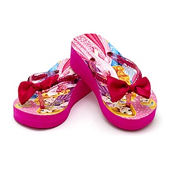 Disney Princess Wedge Flip Flop For Kids