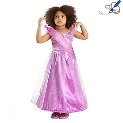 Rapunzel Summer Costume Dress For Kids