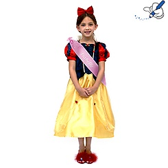 Snow White Costume Dress with Hair Band