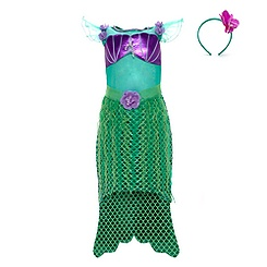 The Little Mermaid Costume Dress