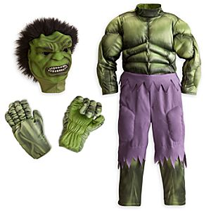 Deluxe Hulk Costume For Kids-5-6 Years Picture