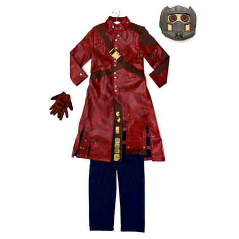 Guardians Of The Galaxy Star-Lord Deluxe Costume For KidsGuardians Of The Galaxy Star Lord Costume