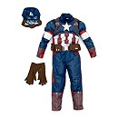 Deluxe Captain America Costume For Kids
