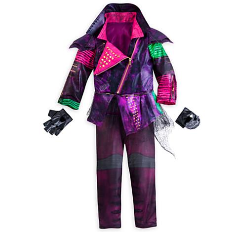 New Disney Official Descendants Mal Costume For Kids 9-10 Maleficent ...