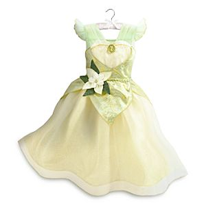 Tiana Costume Dress For Kids