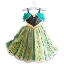 Frozen Anna Deluxe Coronation Costume Dress For Kids