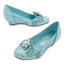 Elsa Costume Shoes For Kids, Frozen
