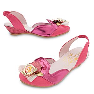 Sleeping Beauty Costume Shoes For Kids