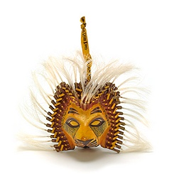 The Lion King Musical Collection Simba Collectible Mask Ornament