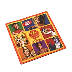 The Lion King Musical Collection Kids Souvenir Brochure