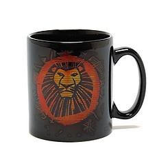 The Lion King Musical Collection Black Mug