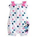 Minnie Mouse Woven Baby Romper