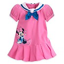Minnie Mouse Pique Baby Dress And Briefs