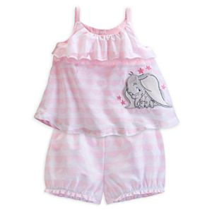 Dumbo Layette Baby Top and Bloomers