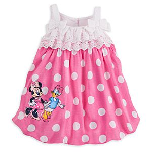 Minnie Mouse Pink Baby Romper