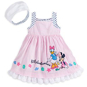 Minnie Mouse Pink Baby Dress, Briefs and Headband