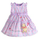 Winnie The Pooh Baby Woven Dress And Briefs