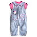Minnie Mouse Baby Woven Romper And Body Suit Set