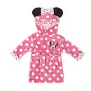 Minnie Mouse Baby Hooded Robe