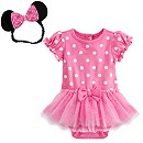Minnie Mouse Pink Costume Body Suit
