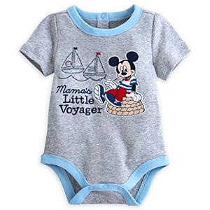 Mickey Mouse Blue Baby Body Suit