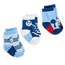 Mickey Mouse Baby Socks, 3 Pairs