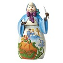 Disney Traditions Snowman Fairy Godmother Figurine
