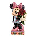 Disney Traditions Minnie Mouse With Flowers Figurine