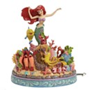 Disney Traditions The Little Mermaid 'Under The Sea' Musical Figurine