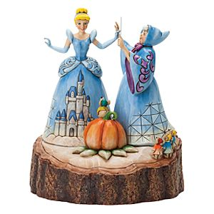 Disney Traditions Cinderella 'Magical Transformation' Figurine - Disney Gifts
