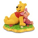 Arribas Jewelled Collection, Winnie The Pooh And Piglet Figurine