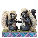 Disney Traditions Flower And Miss Skunk Figurine