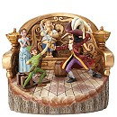 Disney Traditions Peter Pan And Captain Hook Figurine