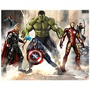 The Avengers: Age of Ultron 12 Panel Decorative Wall Mural