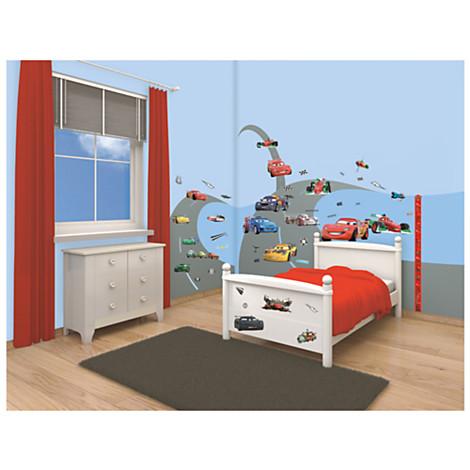darling children, disney pixar cars room decor two