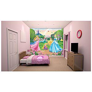 Disney Princess 12 Panel Decorative Wall Mural
