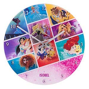 Disney Princess Analogue Wall Clock