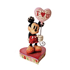 Jim Shore Traditions Mickey Mouse You Keep Me Figurine