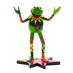Britto Kermit the Frog Figurine