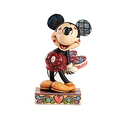 Jim Shore Disney Traditions Mickey Mouse Kisses Figurine