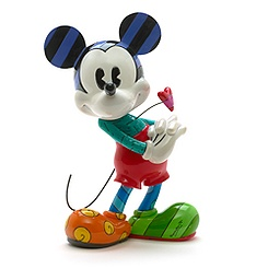 Britto Mickey Mouse With Heart Figurine