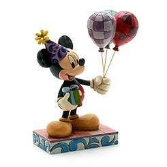 Disney Traditions Mickey Mouse with Balloons Figurine
