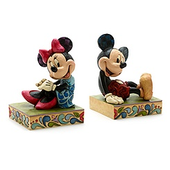 Disney Traditions Mickey and Minnie Mouse Bookends