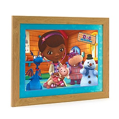 Doc McStuffins and Friends Framed Print