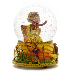 The Lion King Musical Snow Globe