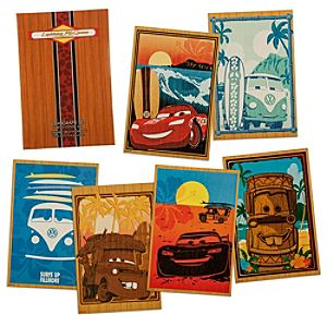 Disney Pixar Cars Artist Series Limited Edition Lithograph Collection - Artist Gifts